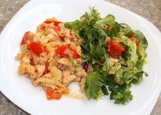 Kuracie soté, Delená strava - recepty, recept | Naničmama.sk Delena, Food And Drink, Chicken, Meat, Recipes, Nova, Cooking, Ripped Recipes