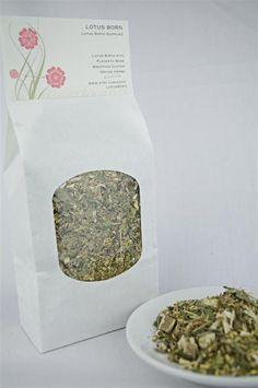 Lotus Birth Drying Herbs Organic