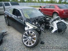 BMW M-Series M3 E90 crashed in Dallas, Texas