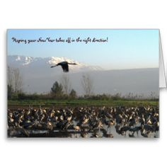 SOLD - #New #Year Beginning Well Greeting Card