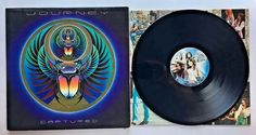 JOURNEY CAPTURED VINYL 1981 COLUMBIA RECORDS LP KC2 37016 FREE SHIPPING