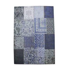 Carpet Patchwork - dark blue