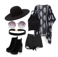 """""""Untitled #4"""" by machasoccio on Polyvore featuring Forever 21, Monki and New Look"""