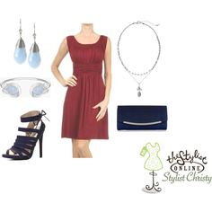 2015 Color of the Year, Marsala, paired with blues