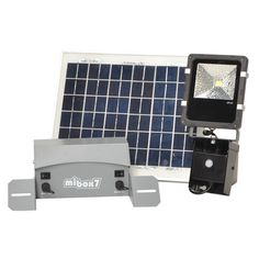 SOLAR SECURITY LIGHT with motion sensor 10WATT Solar Security Light, Solar Flood Lights, Solar Energy, Usb Flash Drive, Lighting, Projects, Solar Power, Log Projects, Blue Prints