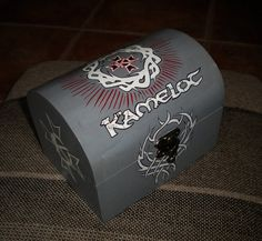 #Kamelot handmade box by Julia