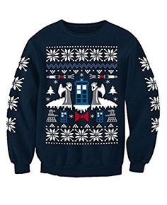 Doctor Who Angel Inspired Christmas Sweatshirt Jumper Adults Medium Summer Wear, Graphic Sweatshirt, T Shirt, Doctor Who, Christmas Sweaters, Jumper, Active Wear, Clothes For Women, Sweatshirts