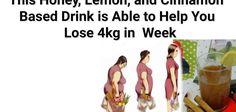 Met deze op honing, citroen en kaneel gebaseerde drank kunt u 4 kg per week verliezen
