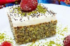 Haşhaşlı Revani Tarifi Dinner Recipes, Dessert Recipes, Desserts, Food Articles, Vanilla Cake, Tiramisu, Easy, Seeds, Banana Bread