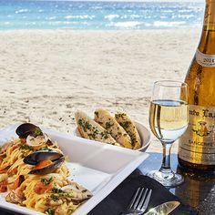 Looks delicious, doesn't it? Dine oceanside at Divi Southwinds Beach Resort in Barbados. Check out all the wonderful amenities they offer right here! Divi Resorts, Beach Resorts, Family Resorts, Barbados, Island, Vacation, Check, Travel, Block Island