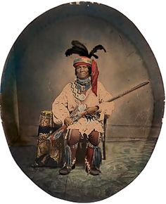 Chief Billy Bowlegs (Holata Micco/Oh-Lochta-Mico/Oh lachta mico/Oh-loch-ta Mi-co/Och-Lochta Micco/O-loc-to-mi-co), Seminole, ca. 1810-1859
