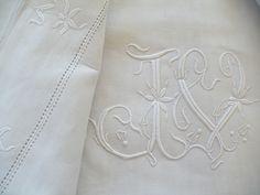 Embroidery monogram