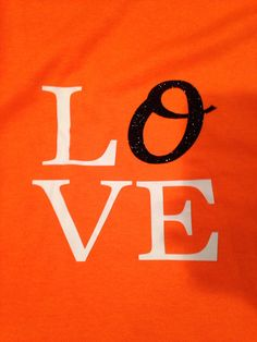 LOVE Baltimore Orioles Shirt by TwoSweetharts on Etsy, $15.00