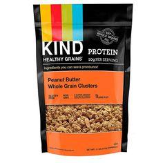 KIND Bars, Healthy Grains, Peanuts Butter Whole Grain Clusters, 11 oz (312 g)