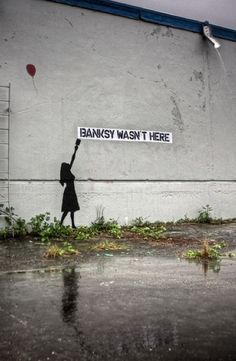 Great collection of Banksy Graffiti Drawings. Great collection of Banksy Graffiti Drawings. Street Art Banksy, Banksy Graffiti, Arte Banksy, Graffiti Artwork, Graffiti Drawing, Bansky, Graffiti Artists, Urban Street Art, 3d Street Art