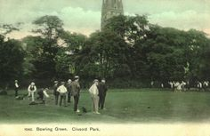 1908 - Bowling in Clissold Park, Stoke Newington