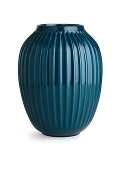 Vase h25 petrol - Designforevig