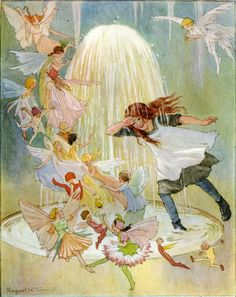 Vintage Fairy Illustrations | Illustration by Margaret Tarrant - a photo on Flickriver