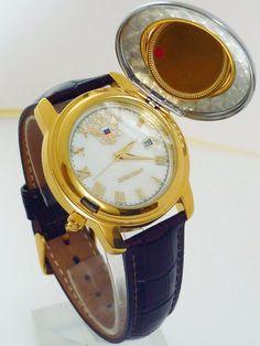 Russian quartz watch PRESIDENT (2014202). POLJOT. Gold-plated. Man`s Fashion.  #President #Fashion