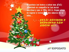 @ExpoDato  FELIZ NAVIDAD Y PROSPERO AÑO NUEVO 2013 a todos nuestros amigos seguidores y nuestro deseo de su éxito y armonía! pic.twitter.com/gO6vrH2Q