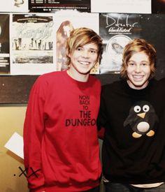 Luke and Ashton