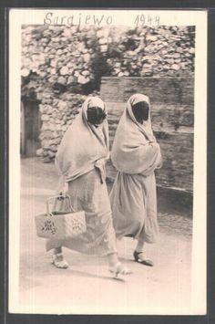 Niqab 1944 Sarajevo