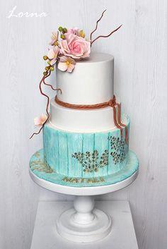 Narodeninová torta, Brithday cake, autorka: Lorna, Tortyodmamy.sk