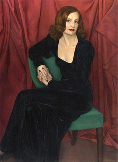 Luigi Lucioni (1900-1988) —  Mili Monti,1941 (545×750)