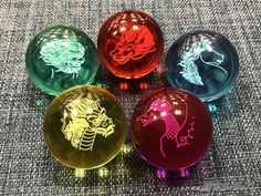 Gosei Sentai Dairanger Tempo rai rai ball 5 color set Bandi power rangers New #Bandai