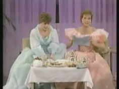 Typical English Tea. A skit with Julie Andrews and Carol Burnett! This is hilarious!