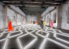 Amazing Fashion Installation - David Grant Events