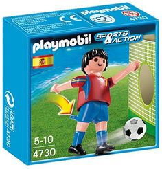 PLAYMOBIL Spain Soccer Player Toy
