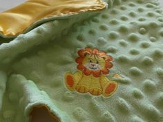 Newborn Lovey, Lion Lovey, Embroidered Lovey, Minky Lovey, Silky Lovey, Baby Blanket, Simply Soft Creation on Etsy, $18.00 CAD