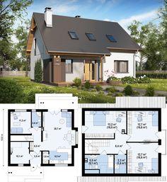 57 Best Ideas For Exterior Design House Modern Layout Craftsman Style Exterior, Craftsman Floor Plans, Small House Floor Plans, House Plans, House Paint Exterior, Exterior House Colors, Exterior Design, Green House Color, Interior Design Presentation