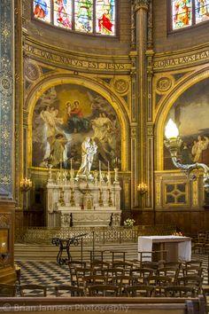 Chapel of the Virgin, L'Eglise Saint Eustache, Paris, France. © Brian Jannsen Photography