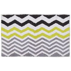 Buy HOME Chevron Bath Mat - Multicoloured at Argos.co.uk - Your Online Shop for…