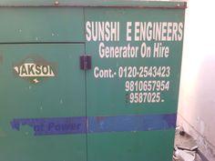 Sunshine Engineers - Generator on Rent Noida, Repairs, Service & AMC- 9810657954, 9810657954, 9810558953 http://www.sunshineengineersindia.com/services.html