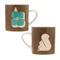 S is for Squirrel Mug