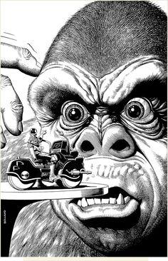 By Brian Bolland (Judge Dredd cover)