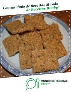 Barras de cereais de relish. Receita Bimby<sup>®</sup> na categoria Bolos e Biscoitos do www.mundodereceitasbimby.com.pt, A Comunidade de Receitas Bimby<sup>®</sup>.