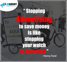 Henry Ford always Knew what he was talking about.