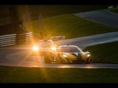 McLaren P1™ GTR meets the iconic McLaren F1 GTR - Geneva preview - YouTube