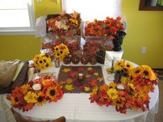 Fall/autumn Wedding Decor, Centerpieces, Bouquets, Etc., 63% off | Recycled Bride