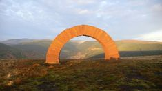 Bail Hill Striding Arch, Cairnhead Community Forest, Moniaive, Dumfries & Galloway