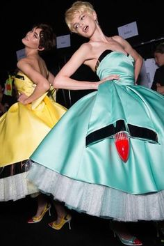 Backstage Jeremy Scotts Moschino Fashion Show Was Inspired by Windex and Carwashes