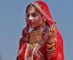 Indian Bridal Looks - The Rajasthani Bridal Look