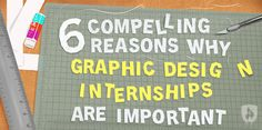 Internships can be extremely beneficial, especially when you are trying to launch your graphic design career. We've compiled this guide of the 6 things you can gain from a graphic design internship!