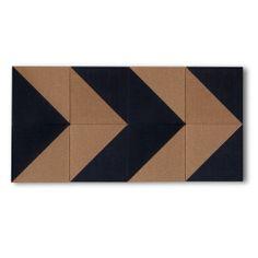 Geometric Cork Board Tile