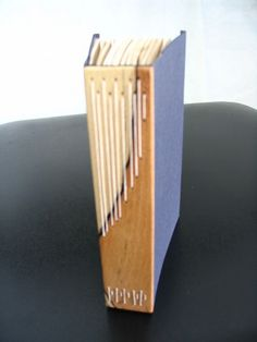 long stitch PDF tutorial    Wood spine by ejhogbin, via Flickr