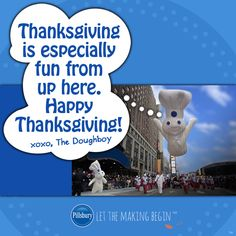 Happy Thanksgiving from your friends at Pillsbury!